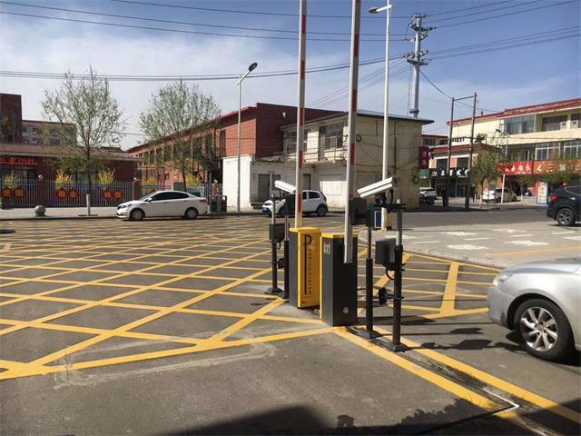 内蒙古道路标线施工禁止停车网格线