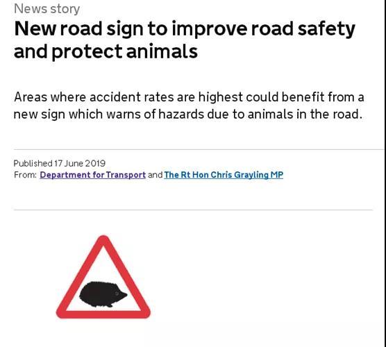 """英国道路新增""""刺猬""""道路万博手机iOS,自驾游乘客需谨防道路安全。"""