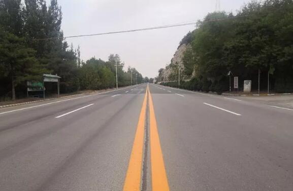 道路标志标线施划工作