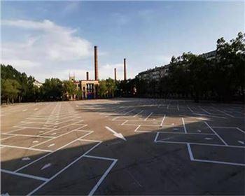 山西工厂地面划线施工